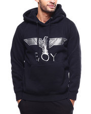 BOY LONDON - BOY Metallic Eagle Brushed Hoodie-2279632