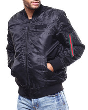 Light Jackets - Padded Bomber Jacket-2279746