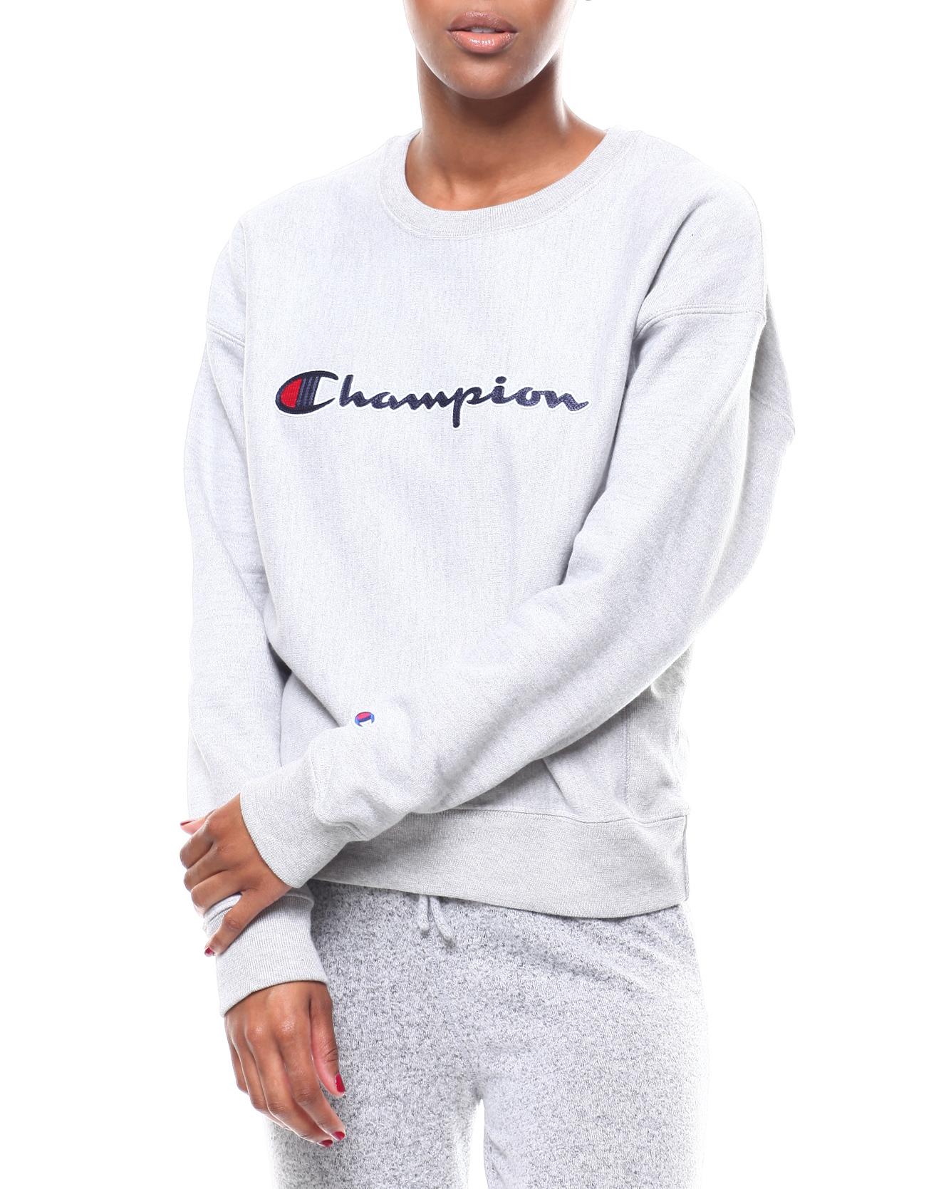 01cc8ea19ca9 Buy Chainstitch Champion Script RW Crewneck Women's Tops from ...