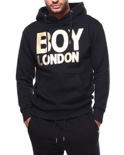 BOY LONDON - BOY LONDON Metallic Brushed Hoodie-2279563