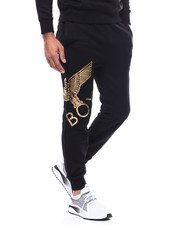 BOY LONDON - Eagle Artwork Cross Printed Jogger-2279573