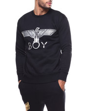 BOY LONDON - Silver Eagle BOY Brushed Sweatshirt-2279548