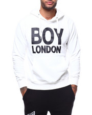 BOY LONDON - BOY LONDON Printed on Pocket Hoodie-2279588