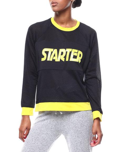 Starter - Textured Oversized Sweatshirt