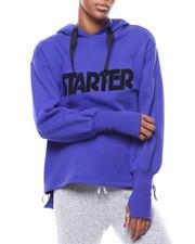 Starter - Logo Fleece Oversized Hoodie-2276480