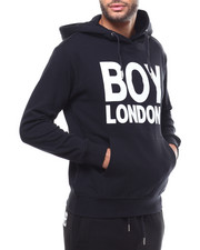 BOY LONDON - BOY LONDON Printed on Pocket Hoodie-2279578