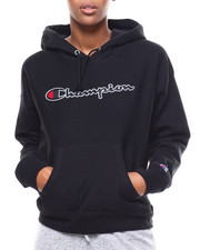 Hoodies - Chainstitch Champion Script RW Hood-2279278