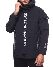 Light Jackets - BOY LONDON Mid-length Hooded Jacket-2279483