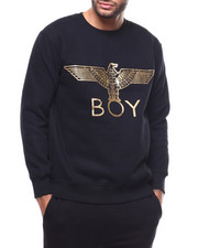 BOY LONDON - Gold Eagle BOY Brushed Sweatshirt-2279514