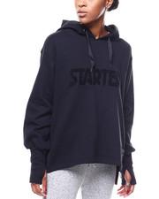Athleisure for Women - Logo Fleece Oversized Hoodie-2276490