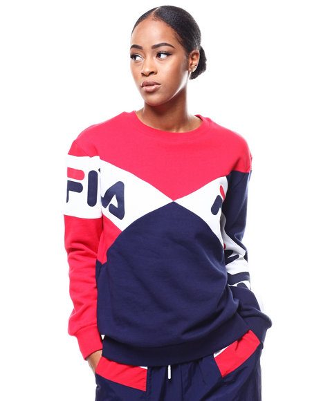 0b654cc2692a Shoptagr   Lidia Sweatshirt by Fila