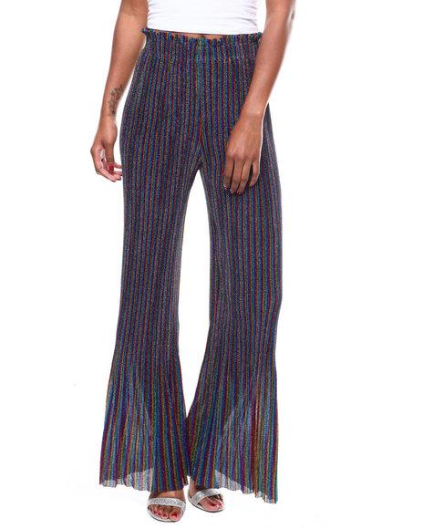 Fashion Lab - Multi Stripe Wide Leg Pant