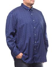 Chaps - L/S Stretch Easy Care H-EC Sport Shirt (B&T)-2278944