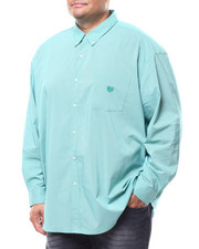 Chaps - L/S Stretch Easy Care H-EC Sport Shirt (B&T)-2278941