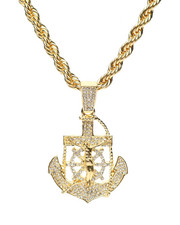 Accessories - Anchor Piece Chain Necklace-2279906
