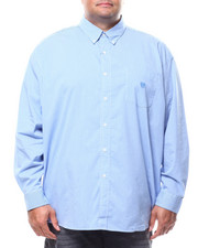 Chaps - L/S Stretch Easy Care H-EC Sport Shirt (B&T)-2278920