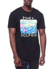Pink Dolphin - PORTRAIT TEE-2280096