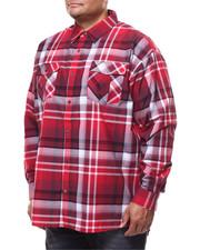 Men - Plaid Woven L/S Shirt (B&T)-2280308