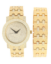Accessories - Iced Watch & Bracelet Set-2279902