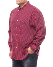 Chaps - L/S Stretch Easy Care H-EC Sport Shirt (B&T)-2278916