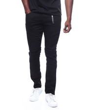 Buyers Picks - TWILL PANT WITH INJECTION KNEE DETAIL-2280001