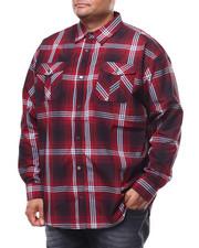 Buyers Picks - Plaid Woven L/S Shirt (B&T)-2280319
