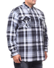 Buyers Picks - Plaid Woven L/S Shirt (B&T)-2280328