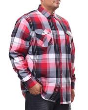 Buyers Picks - Plaid Woven L/S Shirt (B&T)-2280314