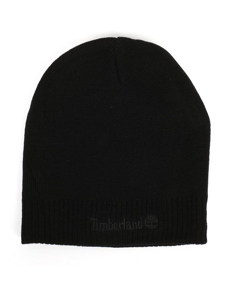 Timberland - Knit Beanie with Logo Embroidery