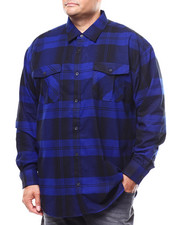 Big & Tall Faves - Long Sleeve Flannel  (B&T)-2280278