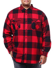 Big & Tall Faves - Long Sleeve Flannel  (B&T)-2280299