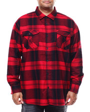 Big & Tall Faves - Long Sleeve Flannel  (B&T)-2280293