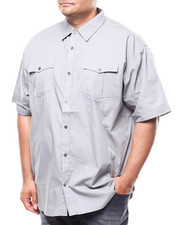 Buyers Picks - S/S Solid Woven Shirt (B&T)-2280262