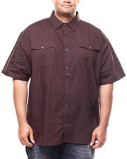 Buyers Picks - S/S Solid Woven Shirt (B&T)-2280266