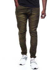 Buyers Picks - TWILL PANT WITH INJECTION KNEE DETAIL-2280017