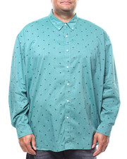 Chaps - L/S Stretch Easy Care H-EC Sport Shirt (B&T)-2278923