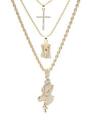 Jewelry & Watches - 3 Piece Necklace Set-2279917