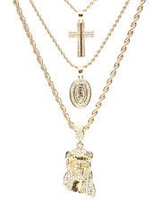 Jewelry & Watches - 3 Piece Necklace Set-2280108
