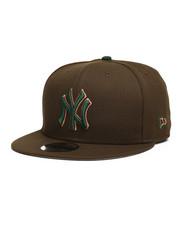 NBA, MLB, NFL Gear - 9Fifty NY Yankees Walnut Snapback Hat-2280573
