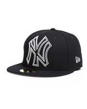 NBA, MLB, NFL Gear - 59Fifty Frame Front NY Yankees Fitted Hat-2280580