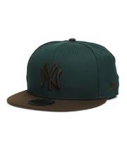 NBA, MLB, NFL Gear - 9Fifty NY Yankees Walnut Snapback Hat-2280572