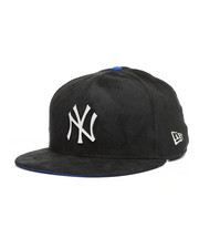 NBA, MLB, NFL Gear - 9Fifty NY Yankees Faux Suede Snapback Hat-2280575