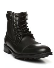 Boots - Cap Toe Combat Boots-2280215