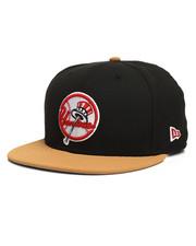 New Era - 9Fifty NY Yankees Faux Panama Tan Snapback Hat-2280571