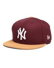 NBA, MLB, NFL Gear - 9Fifty NY Yankees Faux Panama Tan Snapback Hat-2280570