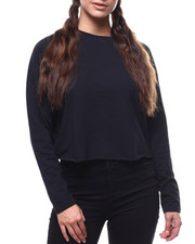 Fashion Lab - L/S Skimmer Sweatshirt-2280425