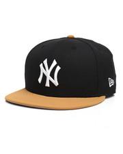 New Era - 9Fifty NY Yankees Faux Panama Tan Snapback Hat-2280569