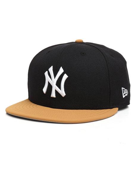 New Era - 9Fifty NY Yankees Faux Panama Tan Snapback Hat