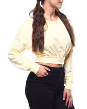 Tees - L/S Cropped Pullover-2280453