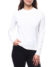 Fashion Lab - 2Tone Hacci Ribbed Sleeve Sweater-2280393
